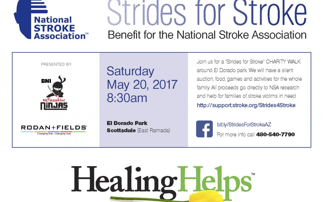 Strides For Stroke: Our Involvement